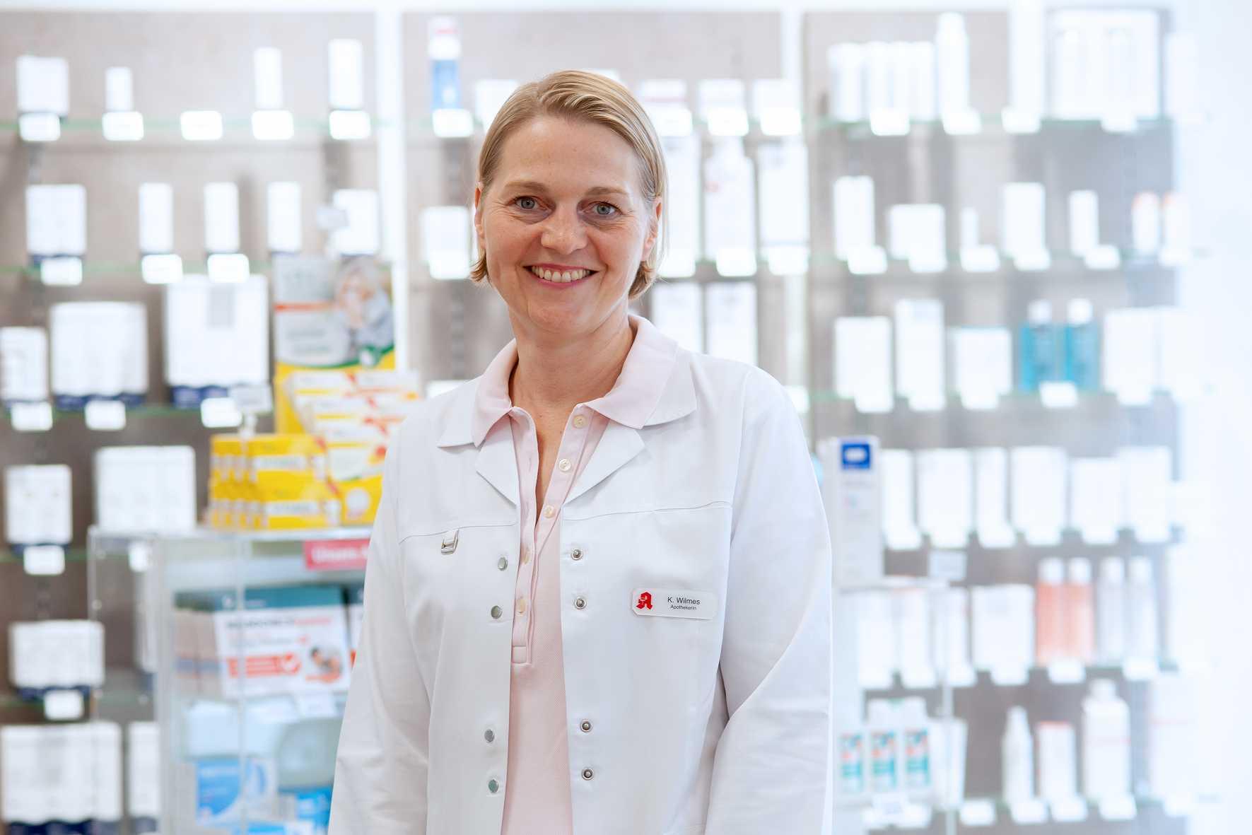 Kathrin Wilmes<br>Apothekerin und Inhaberin
